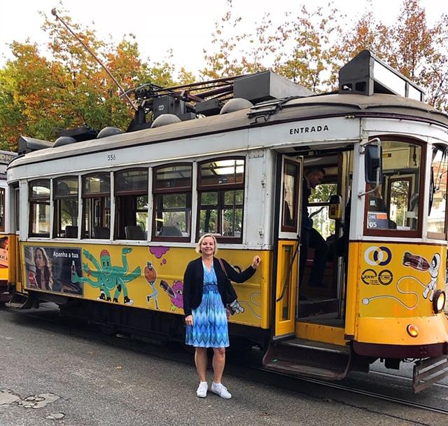 Lena Mägiste VD LM Travel i Lissabon